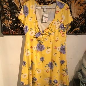 Forever 21 + Yellow Floral Sundress